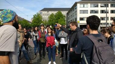 A walk in City with Udo Gleim
